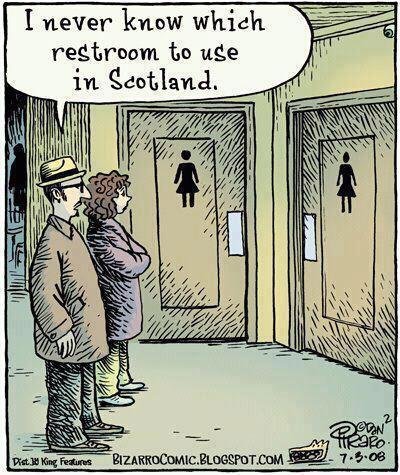 Scottish toilets