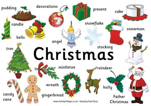 VOCABULARY - Christmas
