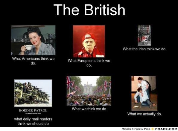 Perceptions of the British