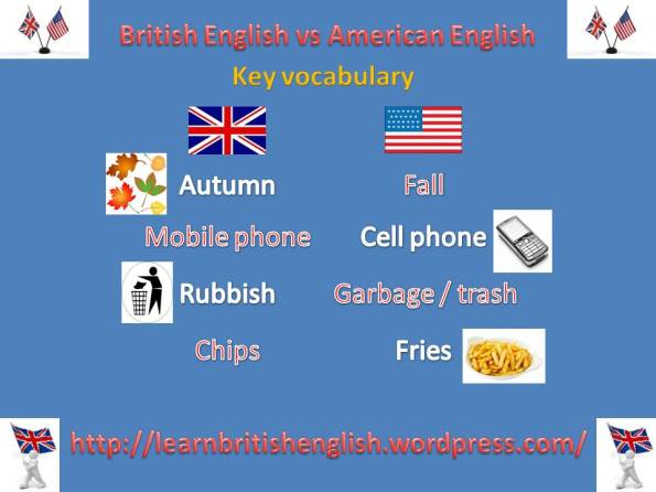 British English vs American English key vocabulary 2 JPEG